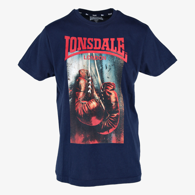 LONSDALE RETRO GLOVES TEE