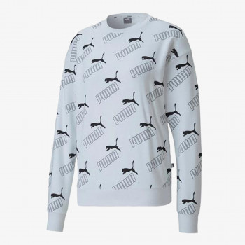 PUMA PUMA AMPLIFIED AOP CREW TR