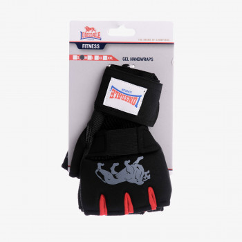 LONSDALE LONSDALE GEL HANDWRAP 00 BLACK/RED