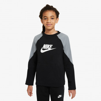 NIKE B NSW MIXED MATERIAL CREW FT