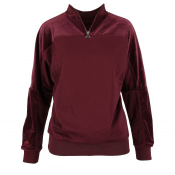 ELLESSE LADIES VELVET CREWNECK