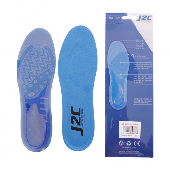 J2C J2C GEL INSOLE BLUE WOMAN