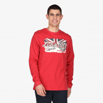 LONSDALE RETRO FLAG T-SHIRT LS