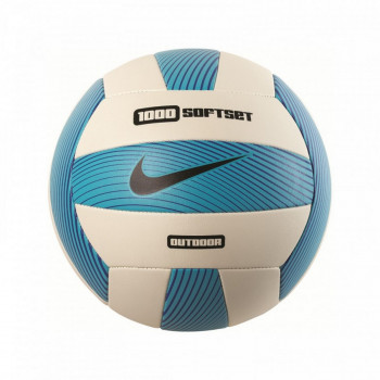 NIKE NIKE 1000 SOFTSET OUTDOOR VOLLEYBALL DEFLATED GAMMA BLUE/WHITE/HYPER COBALT/BLACK