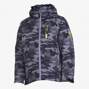 WINTRO PRINT BOYS SKI JACKET